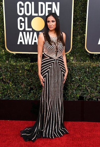 BEVERLY HILLS, CA - JANUARY 06:  Rashmi Goel attends the 76th Annual Golden Globe Awards at The Beverly Hilton Hotel on January 6, 2019 in Beverly Hills, California.  (Photo by Jon Kopaloff/Getty Images)