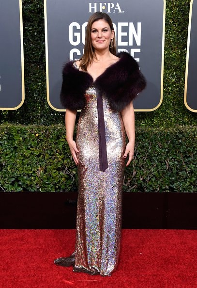 BEVERLY HILLS, CA - JANUARY 06:  Kristin dos Santos attends the 76th Annual Golden Globe Awards at The Beverly Hilton Hotel on January 6, 2019 in Beverly Hills, California.  (Photo by Frazer Harrison/Getty Images)