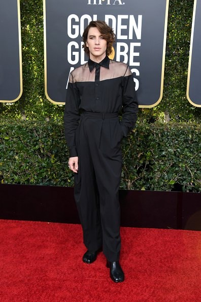 BEVERLY HILLS, CA - JANUARY 06: Cody Fern attends the 76th Annual Golden Globe Awards at The Beverly Hilton Hotel on January 6, 2019 in Beverly Hills, California.  (Photo by Jon Kopaloff/Getty Images)