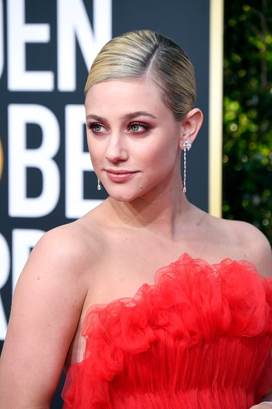 BEVERLY HILLS, CA - JANUARY 06:  Lili Reinhart attends the 76th Annual Golden Globe Awards at The Beverly Hilton Hotel on January 6, 2019 in Beverly Hills, California.  (Photo by Frazer Harrison/Getty Images)