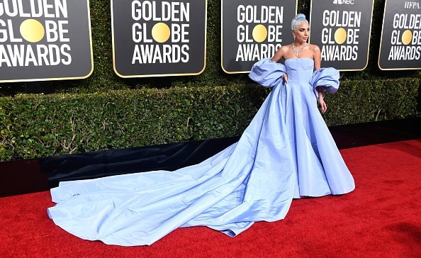 BEVERLY HILLS, CA - JANUARY 06:  Lady Gaga attends the 76th Annual Golden Globe Awards at The Beverly Hilton Hotel on January 6, 2019 in Beverly Hills, California.  (Photo by Frazer Harrison/Getty Images)