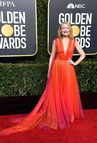 BEVERLY HILLS, CA - JANUARY 06:  Patricia Clarkson attends the 76th Annual Golden Globe Awards at The Beverly Hilton Hotel on January 6, 2019 in Beverly Hills, California.  (Photo by Frazer Harrison/Getty Images)