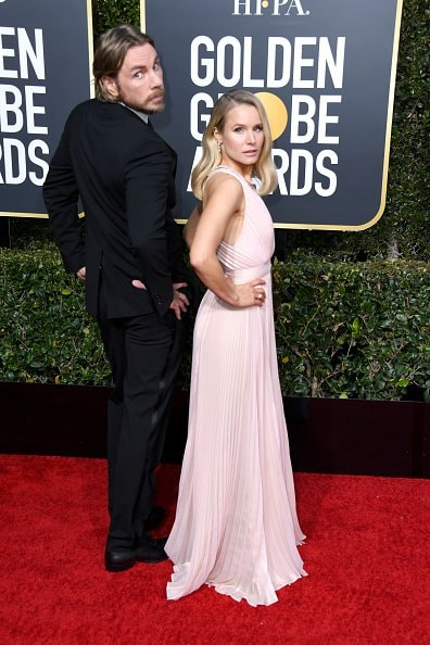 BEVERLY HILLS, CA - JANUARY 06:  Dax Shepard and Kristen Bell attend the 76th Annual Golden Globe Awards at The Beverly Hilton Hotel on January 6, 2019 in Beverly Hills, California.  (Photo by Jon Kopaloff/Getty Images)