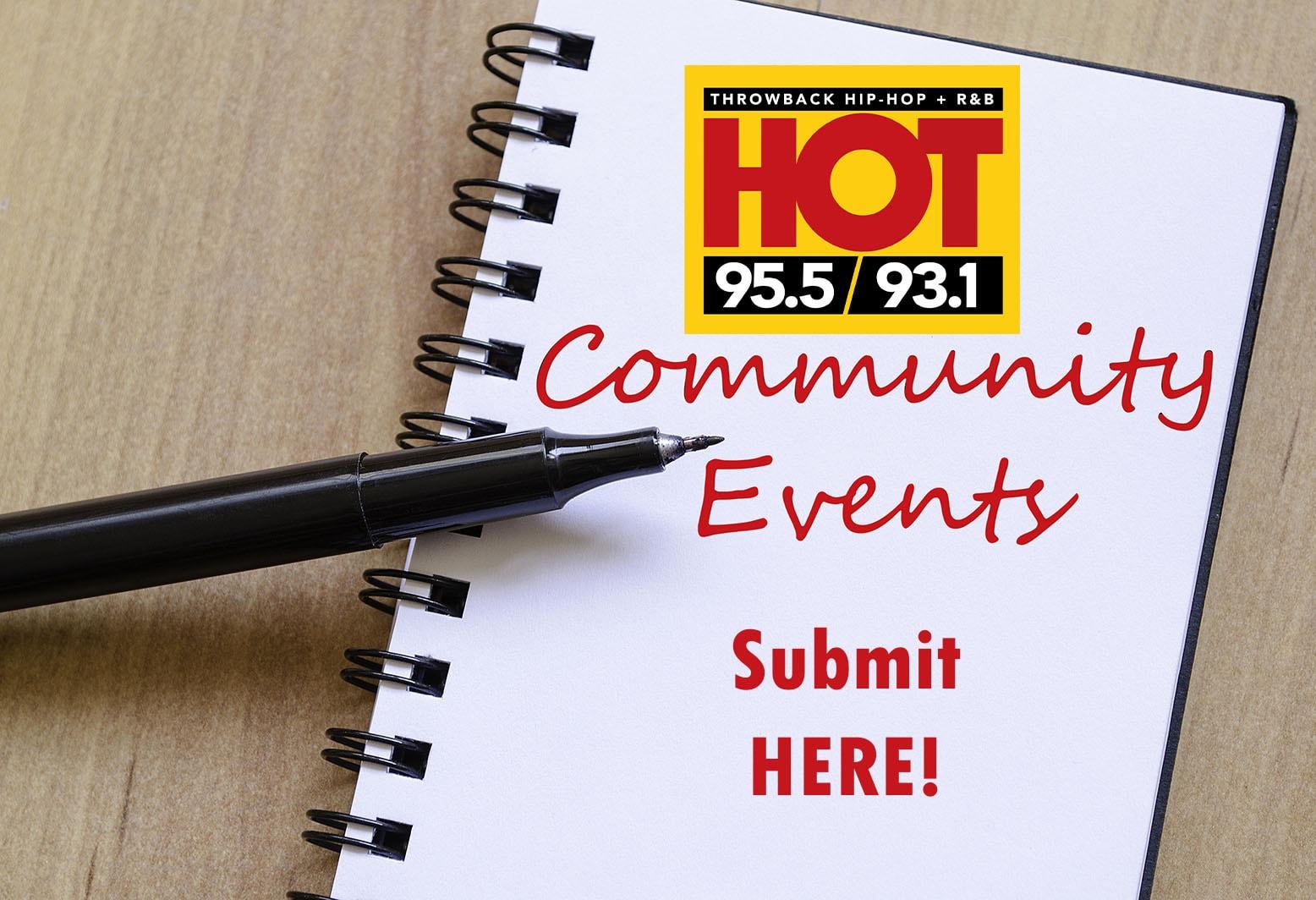 Hot Community Events Calendar