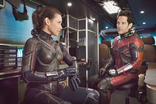 Evangeline Lilly and Paul Rudd